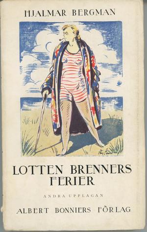 1928 började Hjalmar Bergman i Berlin att skriva på följetongen Lotten Brenners ferier. Den utspelar sig i Travemünde, dit Berlinarna gärna reste under 1920-talet.
