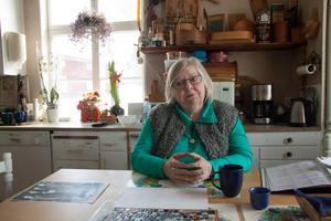Monica Hedén-Krusell är en av Orsa besparingsskogs delägare. Hon tycker att det är viktigt för bygden att fortsätter att förvaltas gemensamt på samma sätt som tidigare.