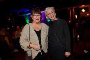 Eva Larsson och Ylva Aller hade åkt från Härnösand eftersom de är Per Lundgren-fans.