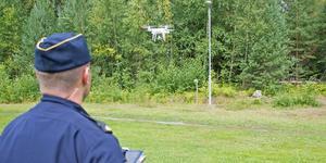 Herman är UAS-operatör och polis i Södertälje.
