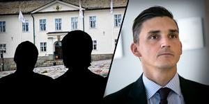 Fotomontage: Mikael Hellsten/arkivbild. I dag väcks åtalet mot en chef inom Falu kommun och dennes son som misstänks för bland annat grov trolöshet mot huvudman.