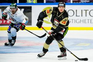 Carl-Johan Lerby gjorde ett av Malmös mål mot Frölunda. Bild: Ludvig Thunman/Bildbyrån