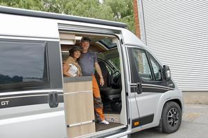Snart packat och klart i nya husbilen, och dags för nya äventyr på vägarna i Sydeuropa.