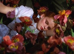 Judy Garland spelare Dorothy Gale i