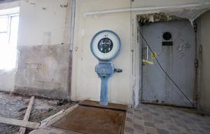En fullt fungerande godisvåg står kvar i Ahlgrenshuset.