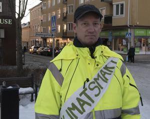 Marcus Ödebygd, klimataktivist.