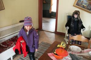 Familjen Sjöskum öppnade dörrarna och visade upp sitt hem.