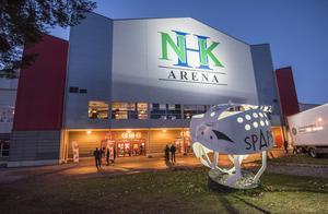 NHK Arena har förändrats på insidan sedan Timrå IK tog steget upp i SHL. Bild: Pär Olert/Bildbyrån