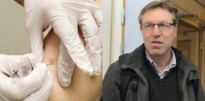Smittskyddsläkare Anders Lindblom ser risken för att smittas av Coronaviuset i Dalarna som näst intill obefintlig. I helgen testades en person i Dalarna för smittan. I dag finns inget vaccin framtaget mot det nya Coronaviruset, som det gör för  vanlig influensa. Montagefoto: Anne-Marie Nenzell och Alexandra Edman