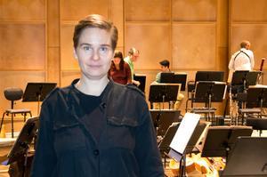 Eva Ollikainen, chefdirigent för Nordiska Kammarorkestern och tillika jurymedlem.