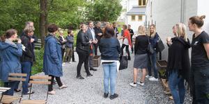 Anställda och särskild inbjudna invigde sommarsäsongen på Saltå.