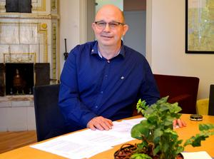 Kommunalrådet Mats Nilsson, S, är glad åt varje ny bostad som kan göra att Säter växer ytterligare.