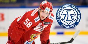 Fredrik Forsberg gjorde 21 (12+9) poäng på 52 matcher för Almtuna i Hockeyallsvenskan. Nu är 22-åringen klar för Leksands IF. Foto: Tobias Sterner/Bildbyrån