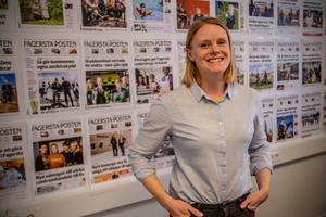 FP:s chefredaktör och ansvariga utgivare, Julia Engström.