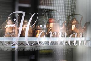 Café Hörnan erbjuder både lunch och fika.