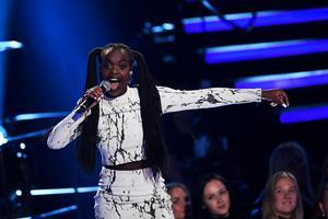 Renaida Braun som tidigare varit med i Idol är klar för nästa års Mello. Foto Jonas Ekströmer / TT