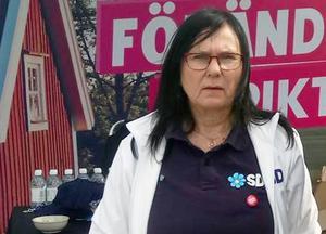 Ulla Vikander från Bispgården lämnar Sverigedemokraterna och blir politisk vilde. Men hon vill inte berätta varför hon lämnar partiet. Foto: Privat