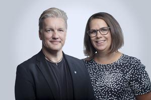 Jan Myléus och Martina Kyngäs, KD.