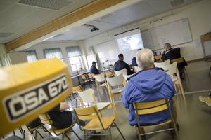 Det bjöds även på filmvisning om ÖSAs framväxt.