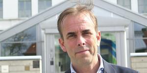 Johan Färnstrand, regiondirektör i Gävleborg, får pris. Bild: Björn Hanérus