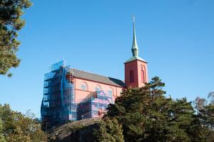Nynäshamns kyrka har genomgått en omfattande renovering.