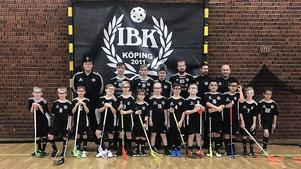 IBK Köping P11. Foto: Karin Wästvind