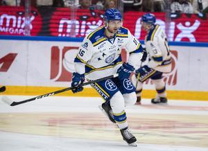 Daniel Gunnarsson skadade sig mot HV71.