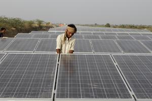 Indien satsar stort på bland annat solkraft.