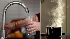 Boende i Klitten har kokat dricksvattnet sedan innan jul. Foto: TT