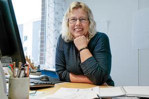 Maria Landin, stadsbyggnadschef på Nynäshamns kommun.