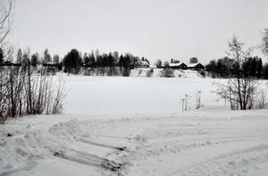 Färjstället som det ser ut i dag sett från södra sidan av älven. Foto:Roland Berg