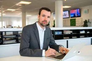 Robin Govik är Mittmedias digitala chef.