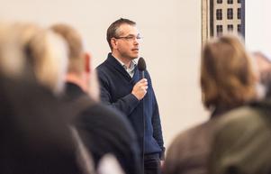 Marcus Kjellin, förhandlingsstrateg på Hyresgästföreningen, tror att hyresförhandlingen med Krylbostäder slutade på bästa tänkbara sätt.