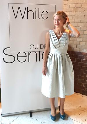 Annika Ingelson Cales, köksmästare på Johannesbergsgatan 2, utsågs till Årets seniorkock 2019.