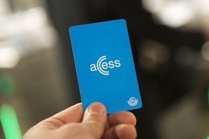 Accesskort gäller i SL-trafiken. Foto: Fredrik Sandberg/TT
