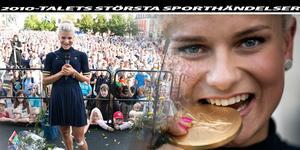 Jenny Rissveds OS–guld 2016 – utsett till 2010-talets främsta idrottshändelse av Dalasporten.