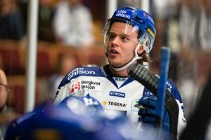 Leksandstalangen Filip Johansson hade en motig säsong på ett individuellt plan: