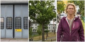 Nya bostäder ser ut att vara på gång alldeles intill Nykvarns centrum. Totalt handlar det om 90-talet lägenheter i två hus. Lollo Pettersson är inte förtjust.