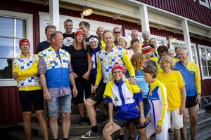 28 gamla landslagskompisar träffades i Segersta.