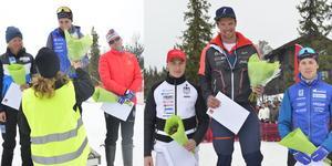 Astrid Astrid Øre Slind, Ebba Andersson och Ida Ingemarsdotter var de tre bästa i damklassen.  Max Novak, Oskar Kardin och Fredrik Andersson var de tre herrarna på pallen.