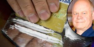 Kokain är en drog som ökat väldigt mycket i södra Dalarna under senaste året, enligt kommunpolis Erik Gatu.