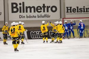Broberg fick jubla fyra gånger om på fredagskvällen.