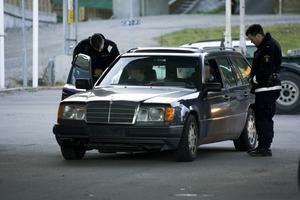 Polisen ryckte ut och stoppade rattfylleristen. Arkivbild