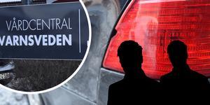 Bilen stals vid vårdcentralen i Kvarnsveden.