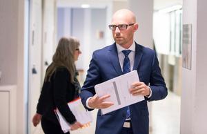 Åklagare Niklas Jeppsson. Foto: Pär Bäckström/pbfoto.se