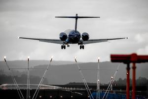 Länets flygplatser var bland de mest punktliga i landet under påskhelgen.