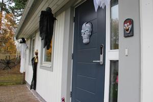 Man får vara beredd på det mesta omkring halloween när man hälsar på hos den här familjen.