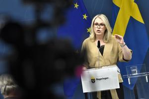 Socialminister Lena Hallengren. Foto: Claudio Bresciani
