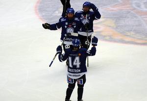 Maja Nylén-Persson blev matchens enda målskytt.