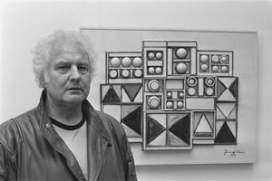 Den berömde nederländske författaren Jan Wolkers 1986. Foto: Rob C. Croes